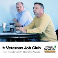6/05 ★Veterans Job Club with Veterans Forward at...