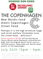 New Nordic meets Copenhagen Street Food