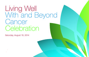 Living Well With and Beyond Cancer Celebration