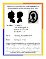 Silhouette Artist - Erik Johnson - at Coco Baby