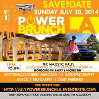 #PowerBrunchLA A Red Carpet Event Presented By Cadillac