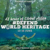 Global Action to Defend World Heritage