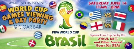 World Cup Games Viewing & Day Party @ Cigar Bar by...