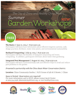 Integrated Pest Management - Garden Workshop