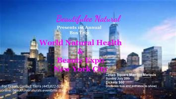 Bus Trip to World Natural Health & Beauty Expo New York
