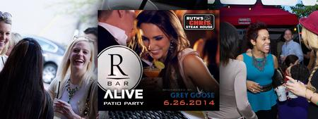 RBar Patio Party at Ruth's Chris Clayton with ALIVE...