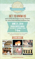 'Get To Know Us' Event with Modern Widows Club (Open...