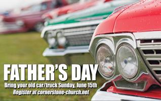 Father's Day Car/Truck Registration