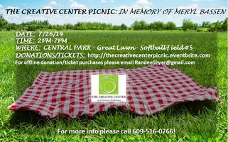 THE CREATIVE CENTER PICNIC: Artist in Residency...