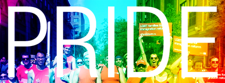March with Immigration Equality at NYC Pride 2014