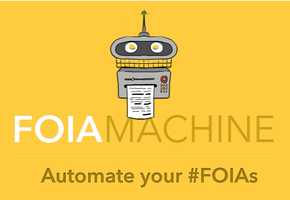 FOIA Machine launch party, hosted by Mother Jones