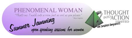 Phenomenal Woman Summer Jamming Speaking Session