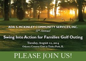 11th Annual Swing Into Action for Families Golf Outing