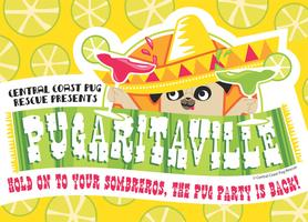 "1st Annual ~ ""Pugaritaville"" Pug Party Benefit for..."