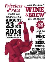 Priceless Pets' Wine and Brew for the Rescue