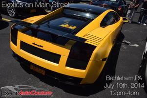 Exotic Auto Couture presents Exotics on Main Street Ben...