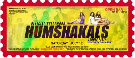 :: Official Bollywood-Hollywood HUMSHAKALS Dance Party...