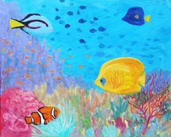 Pa'ina Paint Club - Coral Reef