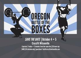 OREGON BATTLE OF THE BOXES