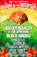 The 5th annual REGGAE ON THE MOUNTAIN