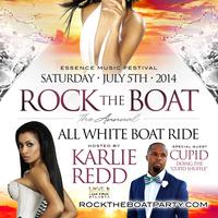 ROCK THE BOAT 2014 ALL WHITE BOAT RIDE PARTY DURING...