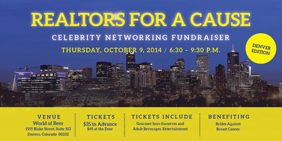 Realtors for a Cause - Celebrity Networking - Denver,...