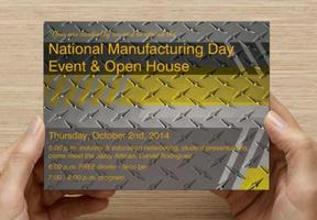 National Manufacturing Day Event & Open House