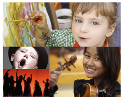 Coloring Outside the Lines: integrating the arts into...