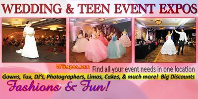 FREE BRIDAL/QUINCEANERA/SWEET 16 EXPO! July 27, 2014...