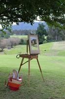 Painting in the Vineyard