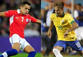 BRAZIL vs. CHILE 2014 World Cup Round of 16