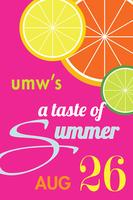 PRUMC: UMW - A Taste of Summer