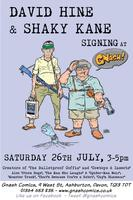 Signing with David Hine & Shaky Kane at Gnash Comics!