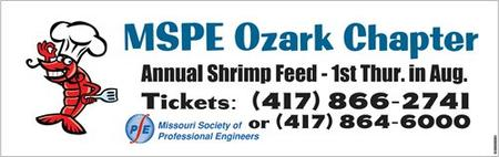 MSPE Ozark Chapter Annual Shrimp Feed