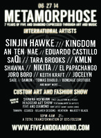 METAMORPHOSE ft SINJIN HAWKE, KINGDOM, EDUARDO...