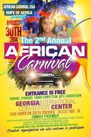 African Carnival  USA: Food and Non Vendor Wanted