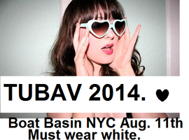 TUBAV NYC PARTY - Riverside Park - MUST WEAR WHITE...