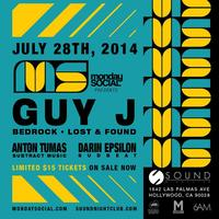 Monday Night Social Presents Guy J