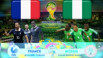 FRANCE vs. NIGERIA 2014 World Cup Round of 16