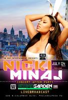 "NICKI MINAJ  ""OFFICIAL CONCERT AFTER PARTY"""