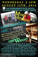 Mark Anthony~Country Recording Artist Album Release...