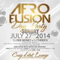 AFRO FUSION DAY PARTY - SUYA SPECIAL - JULY 27th
