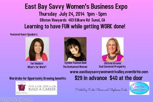 East Bay Savvy Women's Business Expo (Tri-Valley)