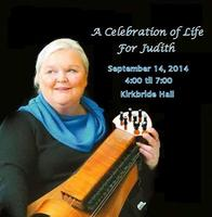A Celebration of Life for Judith