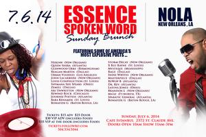 Essence Sunday Spoken Word Brunch