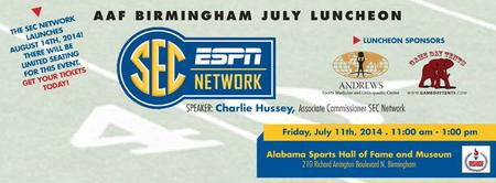 AAF Birmingham July Luncheon Featuring Charlie Hussey w...