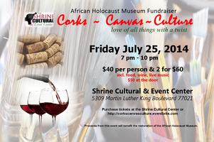 Corks.Canvas.Culture ~ African Holocaust Museum...