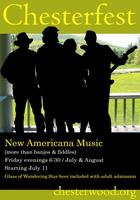 Chesterfest, new Americana music festival (more than...