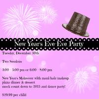 New Year's Eve-Eve Party, Second Session, 6pm