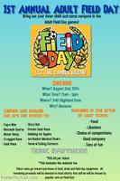 Adult Field Day 2014